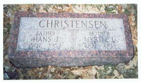 HIERS CHRISTENSEN, MYRTLE L. - Pottawattamie County, Iowa | MYRTLE L. HIERS CHRISTENSEN