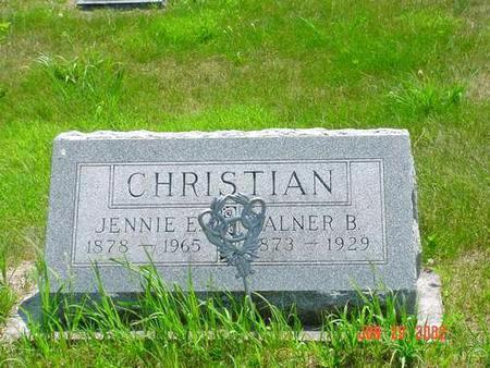 CHRISTIAN, ALNER B. - Pottawattamie County, Iowa | ALNER B. CHRISTIAN