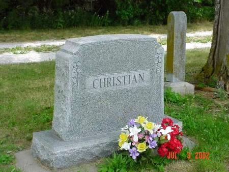 CHRISTIAN, JOHN F. - Pottawattamie County, Iowa | JOHN F. CHRISTIAN
