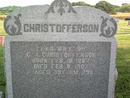 CHRISTOFFERSON, LENA - Pottawattamie County, Iowa | LENA CHRISTOFFERSON
