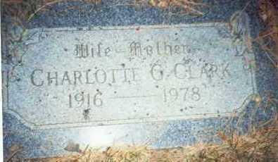CLARK, CHARLOTTE G. - Pottawattamie County, Iowa | CHARLOTTE G. CLARK