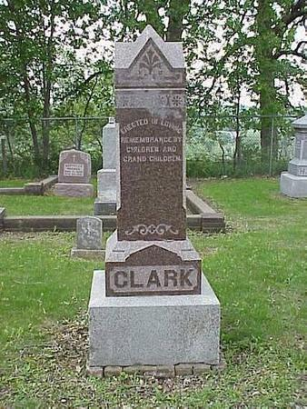CLARK, HEADSTONE - Pottawattamie County, Iowa | HEADSTONE CLARK