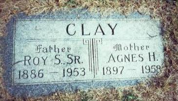 CLAY, AGNES H. - Pottawattamie County, Iowa | AGNES H. CLAY