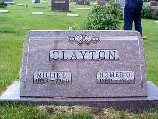 CLAYTON, HOMER O. - Pottawattamie County, Iowa | HOMER O. CLAYTON