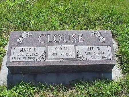 CLOUSE, MARY C. & LEO W. - Pottawattamie County, Iowa | MARY C. & LEO W. CLOUSE