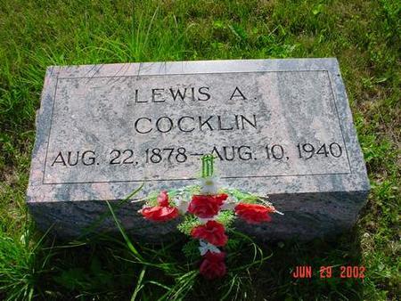 COCKLIN, LEWIS A. - Pottawattamie County, Iowa   LEWIS A. COCKLIN