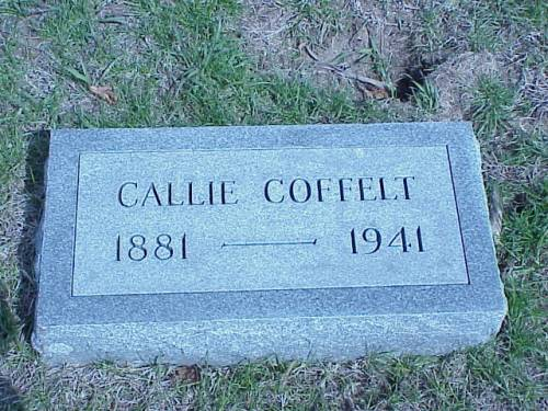 COFFELT, CALLIE - Pottawattamie County, Iowa | CALLIE COFFELT
