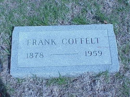 COFFELT, FRANK - Pottawattamie County, Iowa | FRANK COFFELT