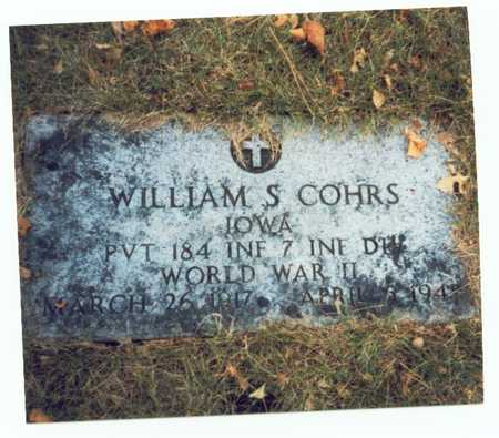 COHRS, WILLIAM S. - Pottawattamie County, Iowa | WILLIAM S. COHRS