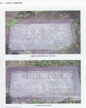 COLE, NELLIE - Pottawattamie County, Iowa | NELLIE COLE