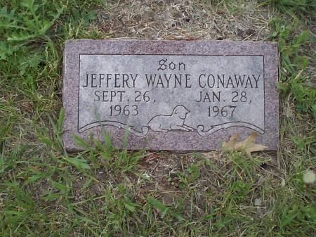 CONAWAY, JEFFERY WAYNE - Pottawattamie County, Iowa   JEFFERY WAYNE CONAWAY
