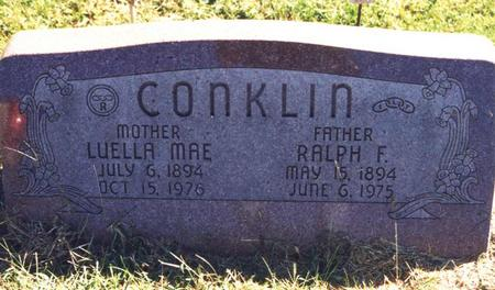 CONKLIN, LUELLA MAE - Pottawattamie County, Iowa | LUELLA MAE CONKLIN