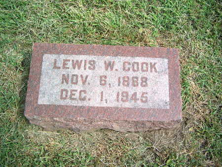 COOK, LEWIS W. - Pottawattamie County, Iowa | LEWIS W. COOK