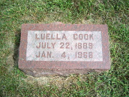 COOK, LUELLA - Pottawattamie County, Iowa | LUELLA COOK