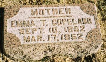 COPELAND, EMMA T - Pottawattamie County, Iowa | EMMA T COPELAND