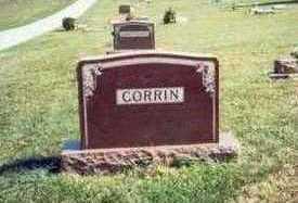 CORRIN, MARKER - Pottawattamie County, Iowa | MARKER CORRIN