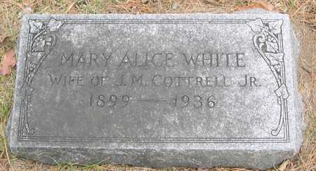 WHITE COTTRELL, MARY ALICE - Pottawattamie County, Iowa | MARY ALICE WHITE COTTRELL