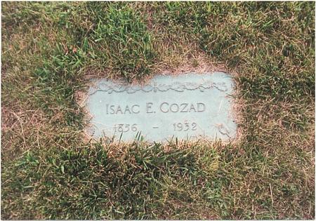 COZAD, ISAAC E - Pottawattamie County, Iowa | ISAAC E COZAD