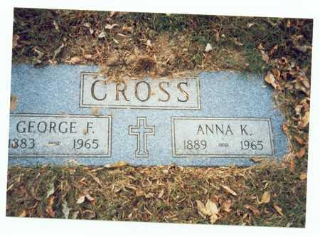CROSS, ANNA K. - Pottawattamie County, Iowa | ANNA K. CROSS