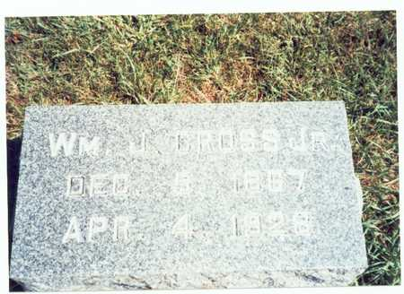 CROSS, WILLIAM J. JR. - Pottawattamie County, Iowa   WILLIAM J. JR. CROSS