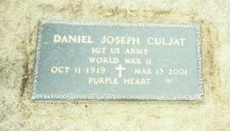 CULJAT, DANIEL JOSEPH - Pottawattamie County, Iowa | DANIEL JOSEPH CULJAT