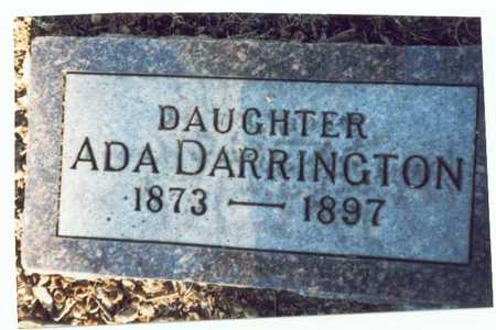 DARRINGTON, ADA - Pottawattamie County, Iowa | ADA DARRINGTON