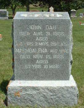 DAU, JOHN - Pottawattamie County, Iowa | JOHN DAU