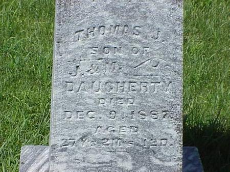 DAUGHERTY, THOMAS J. - Pottawattamie County, Iowa | THOMAS J. DAUGHERTY