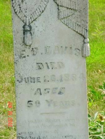 DAVIS, E.D. - Pottawattamie County, Iowa | E.D. DAVIS