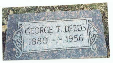DEEDS, GEORGE T. - Pottawattamie County, Iowa | GEORGE T. DEEDS
