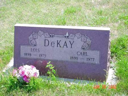 DEKAY, CARL - Pottawattamie County, Iowa | CARL DEKAY