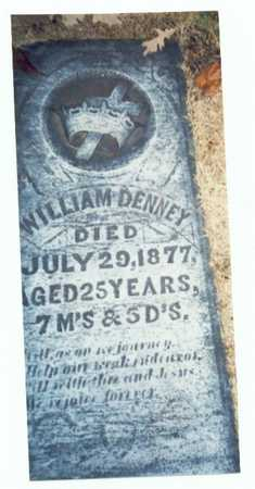 DENNEY, WILLIAM - Pottawattamie County, Iowa | WILLIAM DENNEY