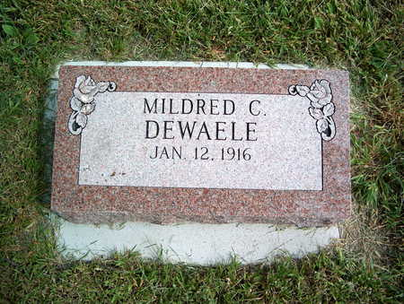 DEWAEL, MILDRED C. - Pottawattamie County, Iowa | MILDRED C. DEWAEL