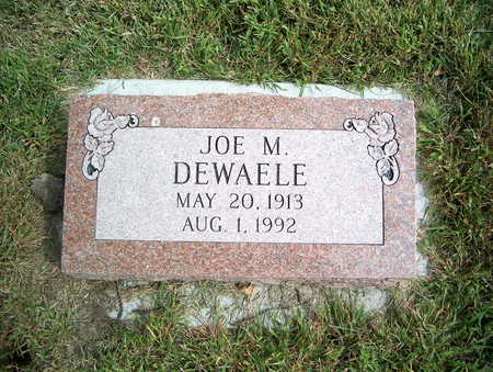 DEWAELE, JOE M. - Pottawattamie County, Iowa | JOE M. DEWAELE