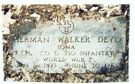 DEYO, HERMAN WALKER - Pottawattamie County, Iowa | HERMAN WALKER DEYO