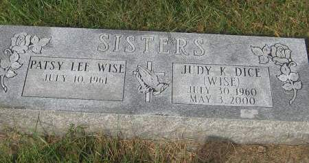 WISE DICE, JUDY K. - Pottawattamie County, Iowa | JUDY K. WISE DICE