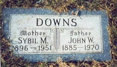 DOWNS, JOHN W. - Pottawattamie County, Iowa | JOHN W. DOWNS