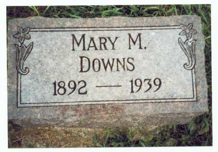 DOWNS, MARY MILDRED - Pottawattamie County, Iowa | MARY MILDRED DOWNS