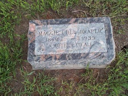 DRAPPER, MAGGIE COLE - Pottawattamie County, Iowa | MAGGIE COLE DRAPPER