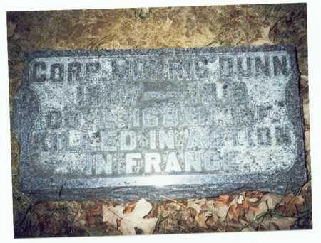 DUNN, MORRIS - Pottawattamie County, Iowa   MORRIS DUNN