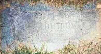 MOORE DUTROW, HARRIET D. - Pottawattamie County, Iowa | HARRIET D. MOORE DUTROW