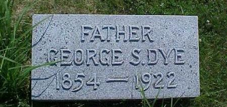 DYE, GEORGE S. - Pottawattamie County, Iowa | GEORGE S. DYE