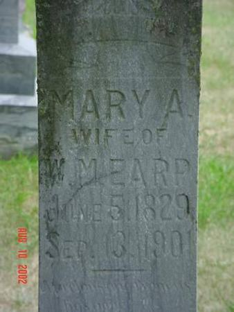 EARP, MARY A. INSCRIPTION - Pottawattamie County, Iowa | MARY A. INSCRIPTION EARP
