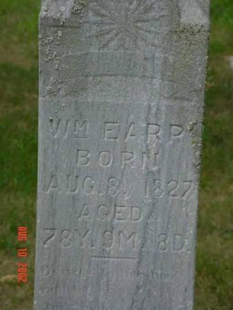 EARP, WILLIAM - Pottawattamie County, Iowa | WILLIAM EARP