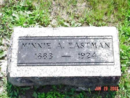EASTMAN, MINNIE A. - Pottawattamie County, Iowa | MINNIE A. EASTMAN