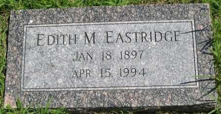 EASTRIDGE, EDITH M. - Pottawattamie County, Iowa | EDITH M. EASTRIDGE