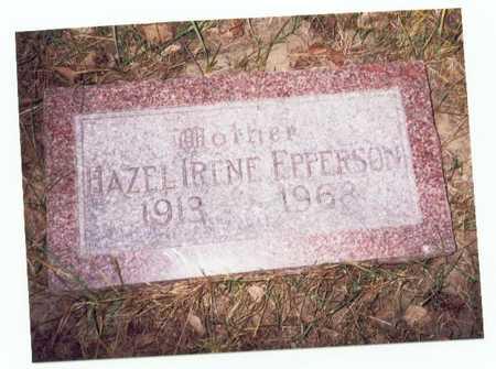 EPPERSON, HAZEL IRENE - Pottawattamie County, Iowa | HAZEL IRENE EPPERSON