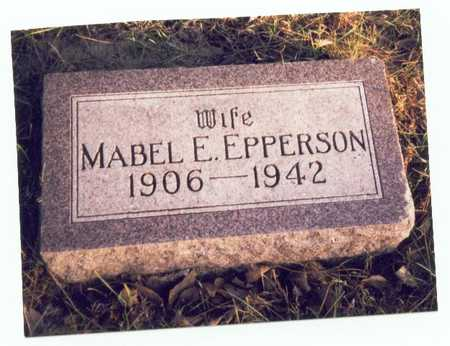 EPPERSON, MABEL E. - Pottawattamie County, Iowa | MABEL E. EPPERSON