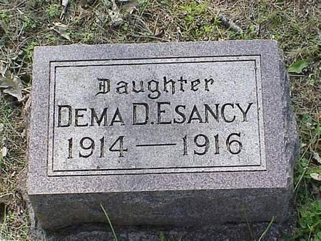 ESANCY, DEMA D. - Pottawattamie County, Iowa | DEMA D. ESANCY