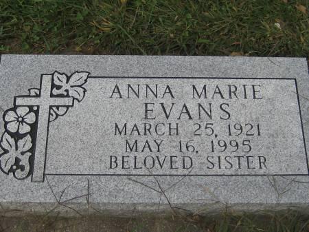EVANS, ANNA MARIE - Pottawattamie County, Iowa | ANNA MARIE EVANS
